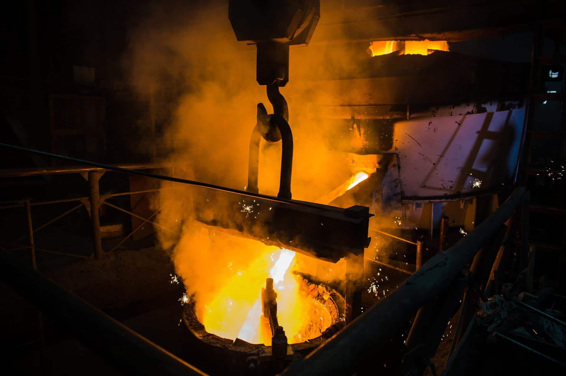 產業實績:鋼鐵業